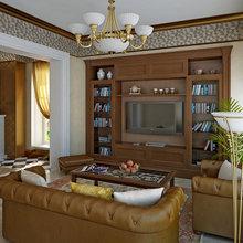 Фото из портфолио Гостиная в стиле ардеко – фотографии дизайна интерьеров на INMYROOM