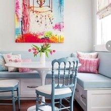 Фотография: Кухня и столовая в стиле Кантри, Интерьер комнат, Обеденная зона – фото на InMyRoom.ru