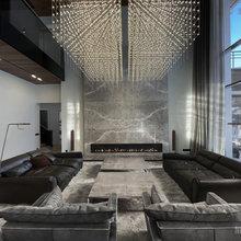 Фото из портфолио  Nickolskaya residence (Победитель премии Арх-Тайга 2021) – фотографии дизайна интерьеров на INMYROOM