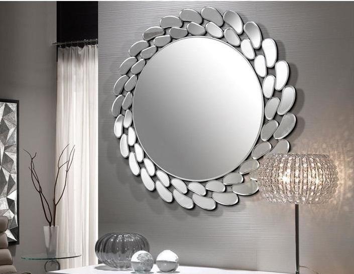 Настенное зеркало Schuller Ofelia круглой формы диаметр 80 см