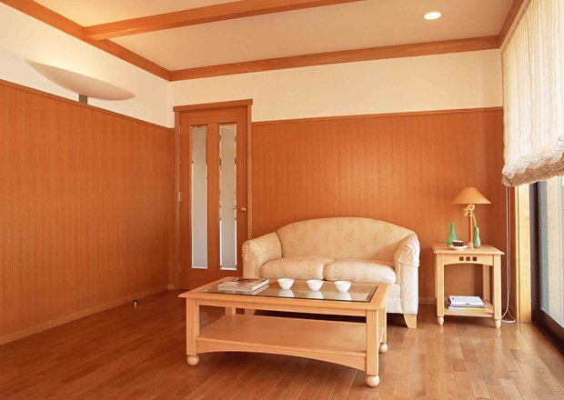 Фотография: Гостиная в стиле , Декор интерьера, Декор дома, Стеновые панели – фото на InMyRoom.ru