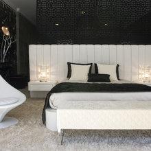 Фотография: Спальня в стиле Современный, Декор интерьера, Квартира, Дом, Дизайн интерьера, Цвет в интерьере – фото на InMyRoom.ru