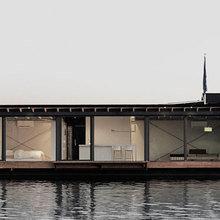 Фото из портфолио Уникальный плавучий дом в Берлине – фотографии дизайна интерьеров на INMYROOM