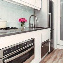 Фотография: Кухня и столовая в стиле Современный, Малогабаритная квартира, Интерьер комнат, Ремонт, kuhnya-8-kv-metrov – фото на InMyRoom.ru