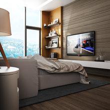 Фото из портфолио Вилла в Гурзуфе: спальня – фотографии дизайна интерьеров на InMyRoom.ru
