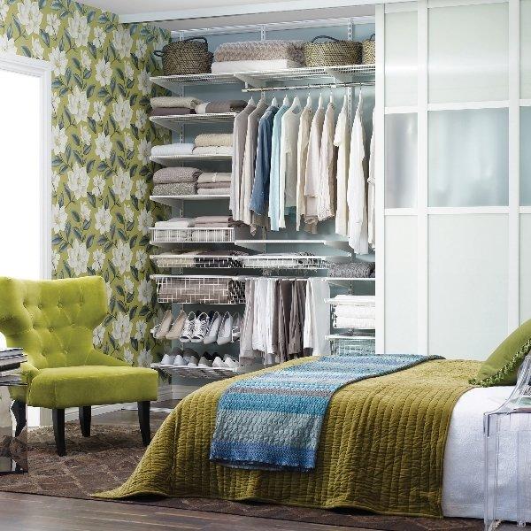 Фотография: Спальня в стиле Прованс и Кантри, Малогабаритная квартира, Квартира – фото на InMyRoom.ru