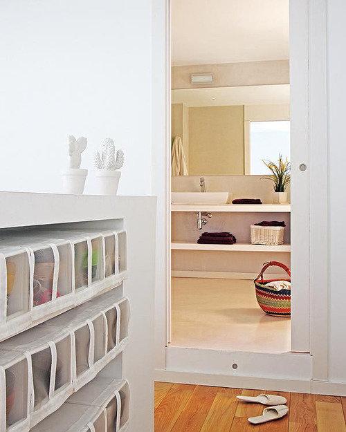 Фотография: Спальня в стиле Прованс и Кантри, Лофт, Декор интерьера, Квартира, Цвет в интерьере, Дома и квартиры, Белый, Барселона – фото на InMyRoom.ru