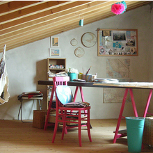 Фотография: Кабинет в стиле Кантри, Эклектика, Декор интерьера, Декор дома, Гамак – фото на InMyRoom.ru