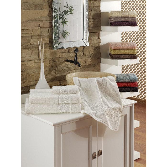 Набор полотенец 50х90 3шт/эконом упаковка RAVENNA белый
