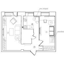 Фотография: Планировки в стиле , Декор интерьера, Квартира, Дома и квартиры, IKEA, Проект недели, Градиз – фото на InMyRoom.ru