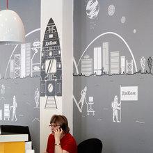 """Фото из портфолио Оформление офиса фирмы """"ДИКОМ"""" – фотографии дизайна интерьеров на InMyRoom.ru"""