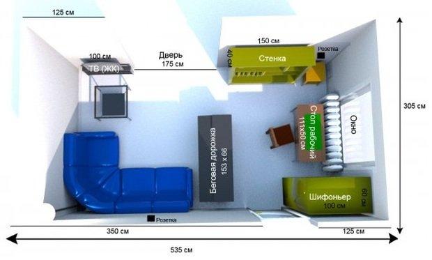 Как правильно расставить мебель в гостиной: пошаговая инструкция