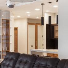 Фотография: Кухня и столовая в стиле Современный, Квартира, Проект недели, новостройка – фото на InMyRoom.ru