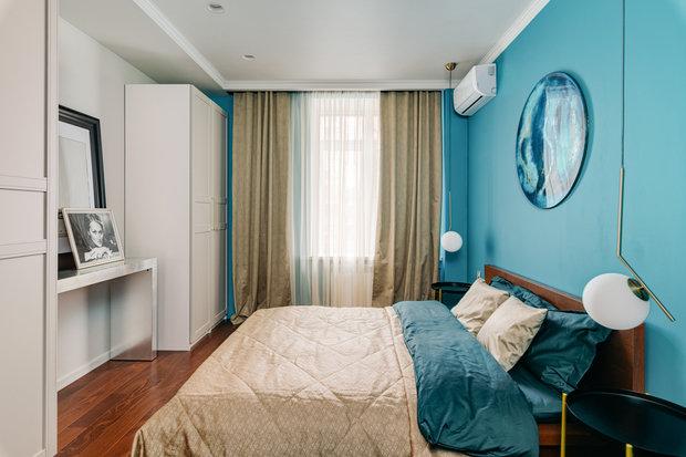 Фотография: Спальня в стиле Современный, Квартира, Проект недели, Видное, 3 комнаты, 60-90 метров, Дмитрий Удовицкий – фото на INMYROOM
