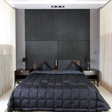 Фотография: Спальня в стиле Современный, Декор интерьера, Малогабаритная квартира, Квартира, Цвет в интерьере, Стиль жизни, Советы – фото на InMyRoom.ru