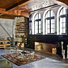 Фотография: Гостиная в стиле Лофт, Декор интерьера, Квартира, Дома и квартиры, Проект недели, Илья Беленя – фото на InMyRoom.ru