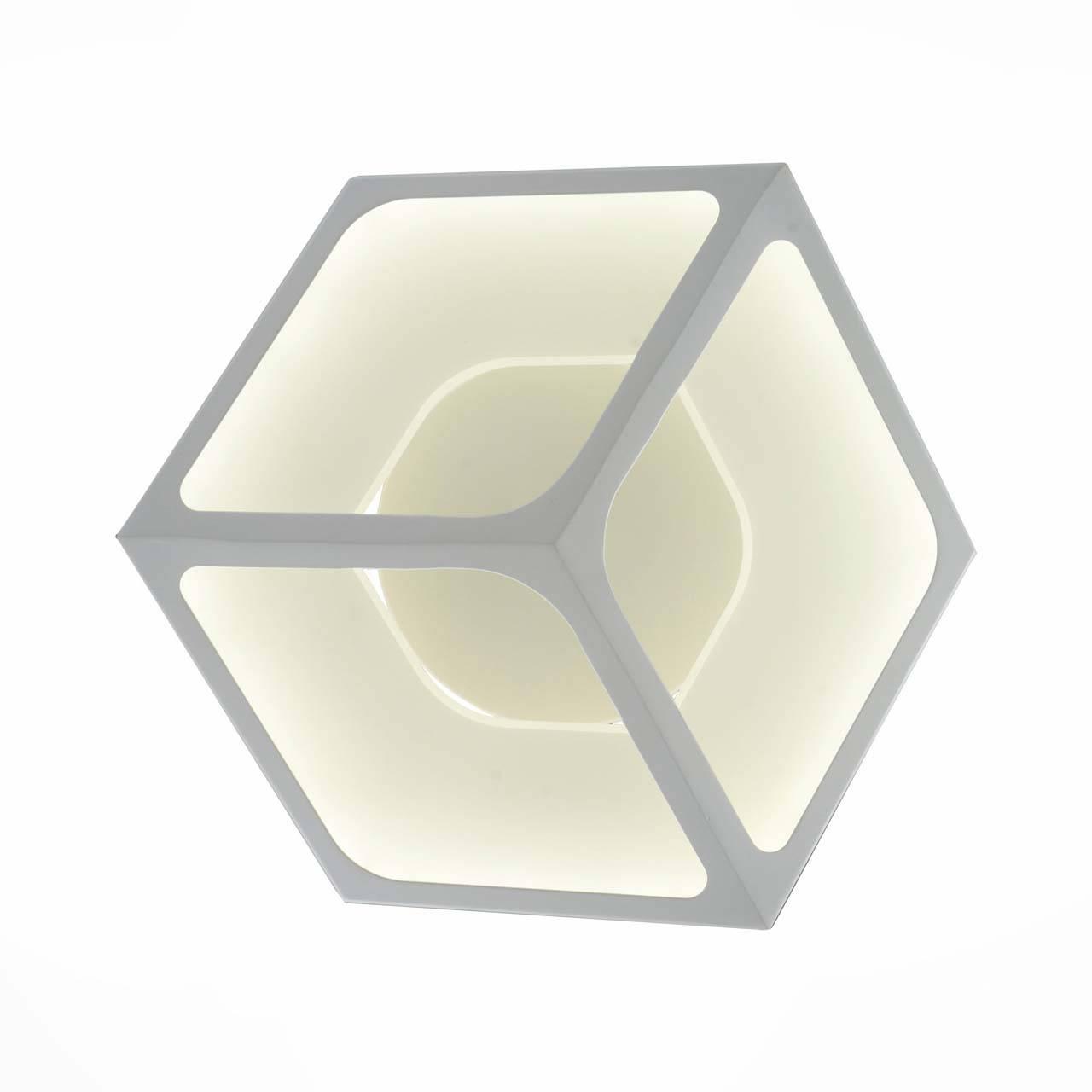 Купить со скидкой Настенный светодиодный светильник st Luce из пластика и металла