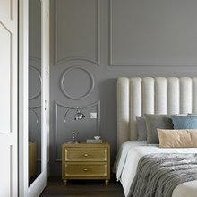 Фотография: Спальня в стиле Классический, Квартира, Проект недели, Надя Зотова – фото на InMyRoom.ru
