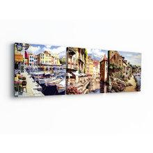 Модульная картина от дизайнера: Амстердам
