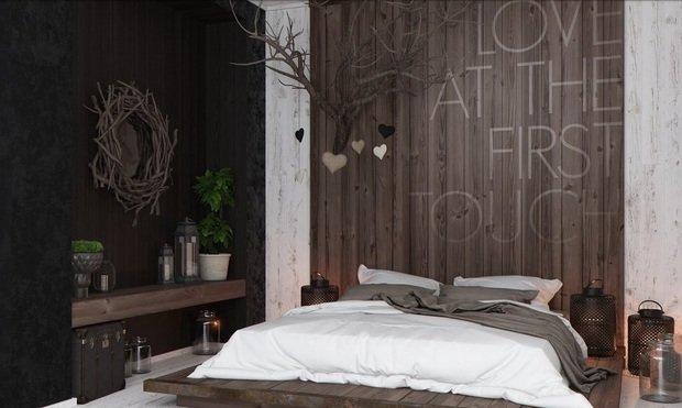 Фотография: Спальня в стиле , Малогабаритная квартира, Индустрия, События, Проект недели, Перепланировка – фото на InMyRoom.ru
