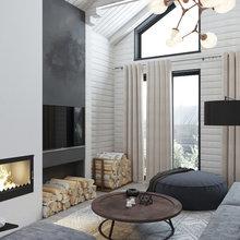 Фото из портфолио Одноэтажный дом/ 150 m/ Санкт-Петербург – фотографии дизайна интерьеров на INMYROOM