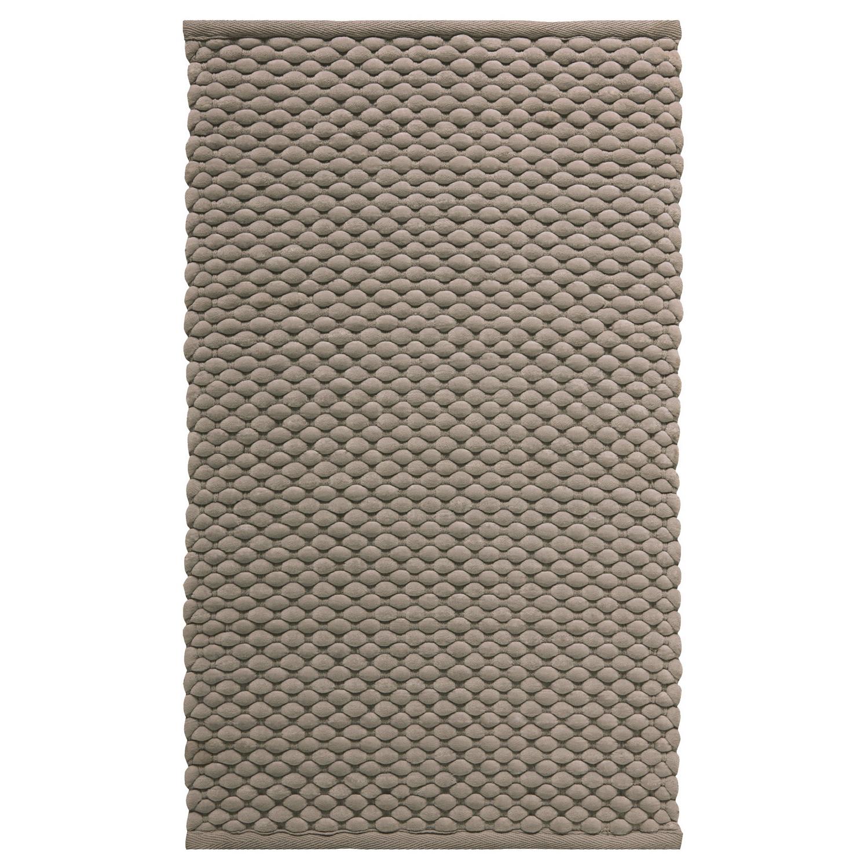 Коврик для ванной Maks коричневый 60x100 см