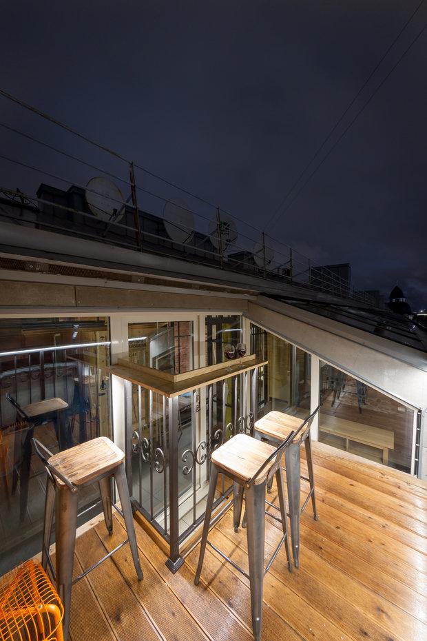 Фотография: Балкон в стиле Лофт, Квартира, Проект недели, Санкт-Петербург, Макс Жуков, ToTaste Studio, 4 и больше, Более 90 метров – фото на INMYROOM