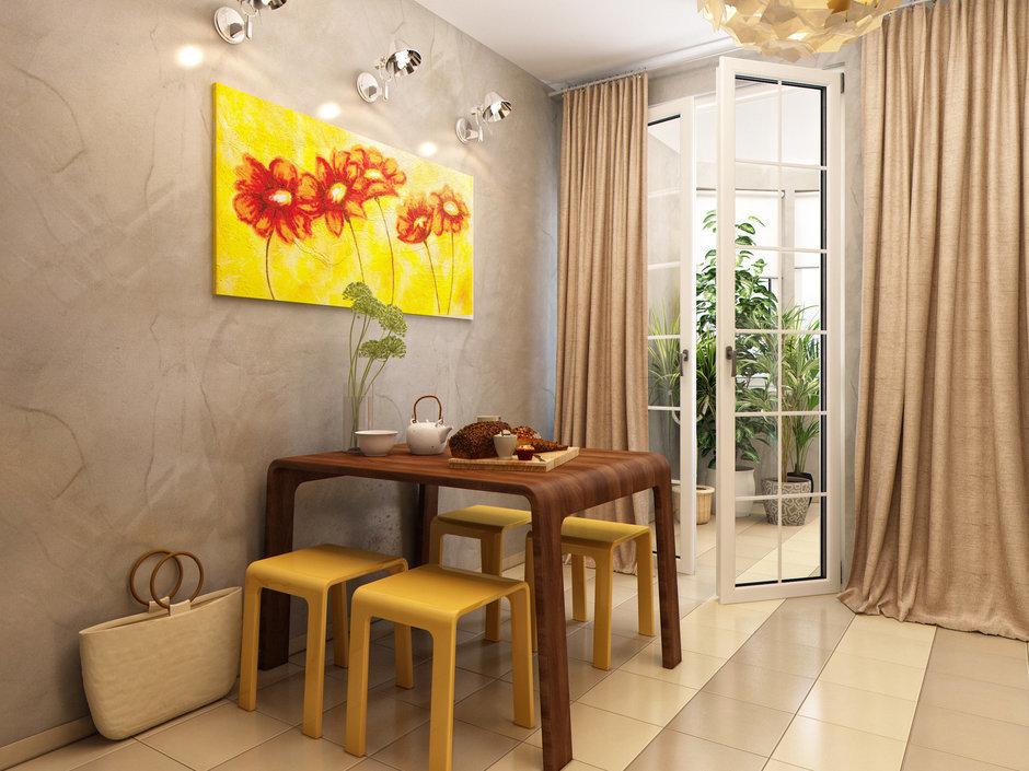 Фотография: Кухня и столовая в стиле Современный, Лофт, Квартира, Проект недели – фото на InMyRoom.ru
