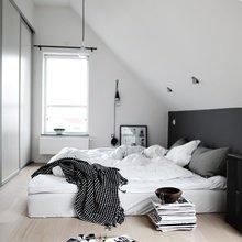 Фотография: Спальня в стиле Скандинавский, Современный, Чердак, Мансарда – фото на InMyRoom.ru