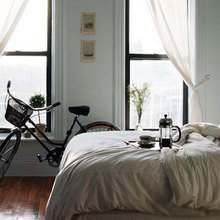 Фотография: Спальня в стиле Современный, Стиль жизни, Советы, Мебель-трансформер – фото на InMyRoom.ru