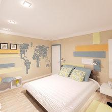 Фото из портфолио дизайн-проект 2-х комнатной квартиры – фотографии дизайна интерьеров на INMYROOM