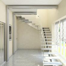 Фото из портфолио Дизайн двухэтажного коттеджа общей площадью 200 кв. м – фотографии дизайна интерьеров на INMYROOM