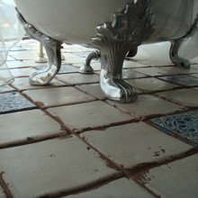 Фотография: Ванная в стиле Кантри, Интерьер комнат, Проект недели – фото на InMyRoom.ru