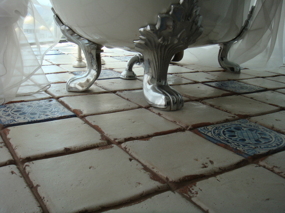 Фотография: Ванная в стиле Прованс и Кантри, Интерьер комнат, Проект недели – фото на InMyRoom.ru