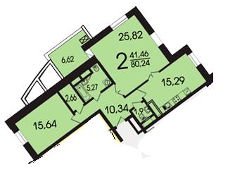 Как сделать 3 комнатную квартиру?