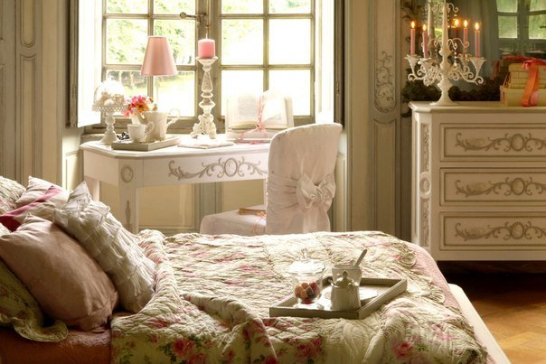 Фотография: Спальня в стиле Классический, Франция, Интерьер комнат, Интерьерная Лавка – фото на InMyRoom.ru