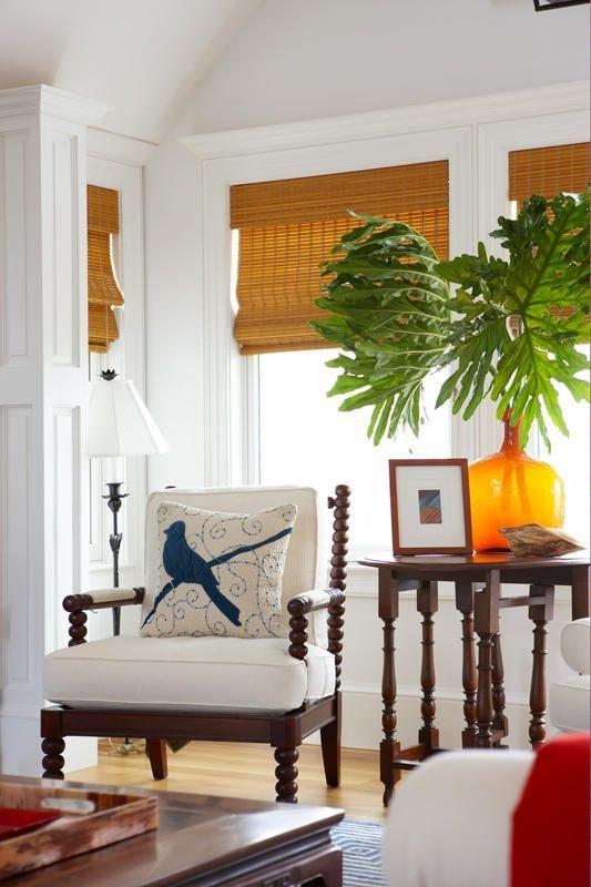 Фотография: Мебель и свет в стиле Восточный, Эклектика, Декор интерьера, Декор дома, Плетеная мебель – фото на InMyRoom.ru