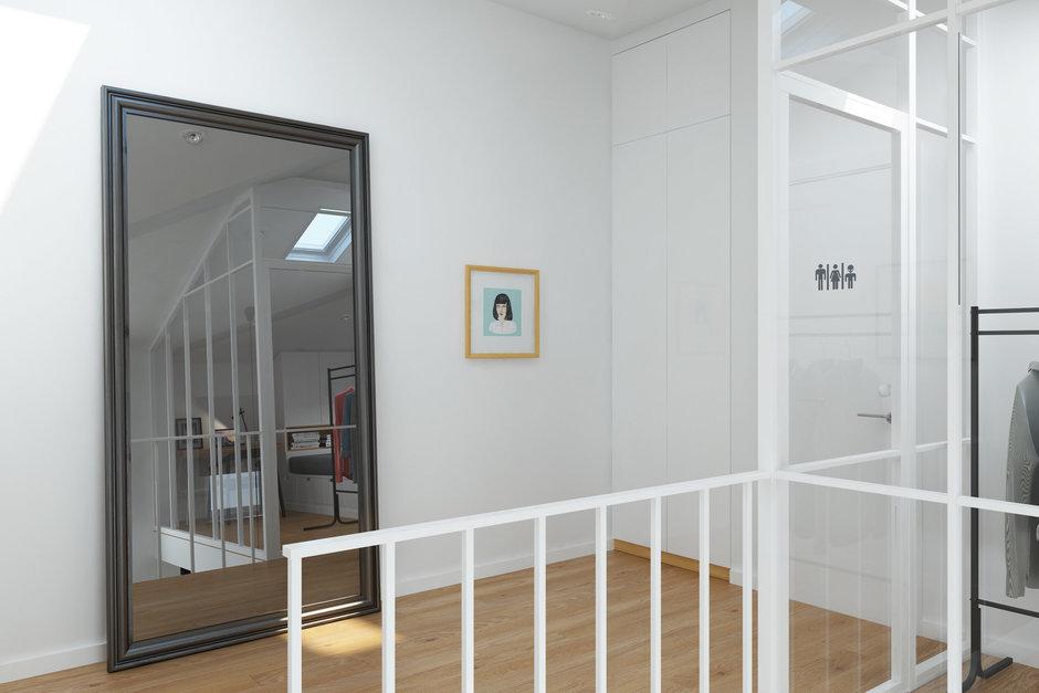 Фотография: Прихожая в стиле Скандинавский, Квартира, Проект недели, Химки, Geometrium, ЖК «Город Набережных» – фото на InMyRoom.ru