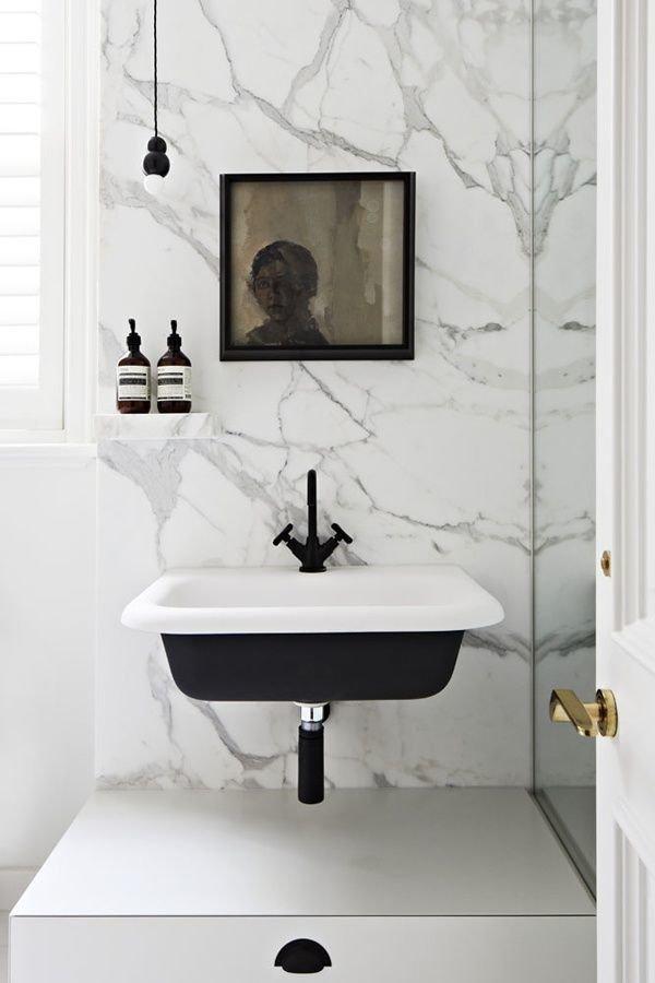 Фотография: Ванная в стиле Современный, Декор интерьера, Квартира, Декор, Советы, раковина, раковина в ванной – фото на InMyRoom.ru