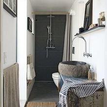 Фотография: Ванная в стиле Скандинавский, Интерьер комнат – фото на InMyRoom.ru