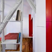 Фотография:  в стиле Современный, Малогабаритная квартира, Квартира, Дома и квартиры, Париж – фото на InMyRoom.ru