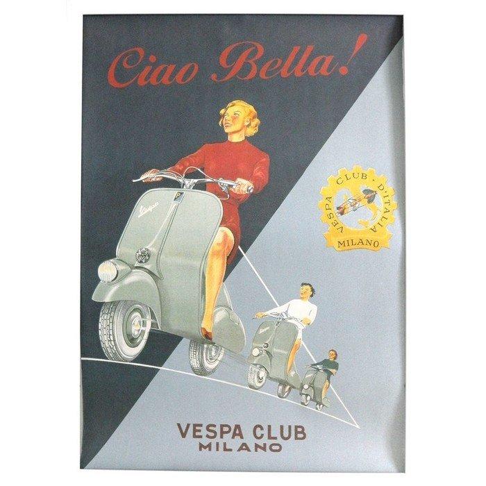 Постер Vespa Club
