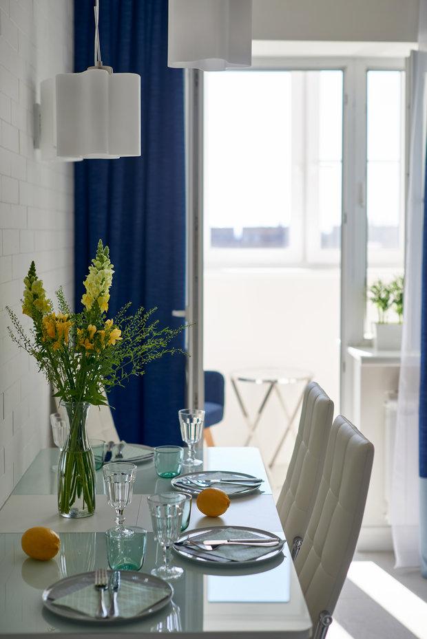 Фотография: Кухня и столовая в стиле Современный, Квартира, Проект недели, Марина Саркисян, Долгопрудный, 1 комната, 40-60 метров – фото на INMYROOM