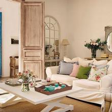 Фотография: Гостиная в стиле Кантри, Скандинавский, Дом, Дома и квартиры – фото на InMyRoom.ru