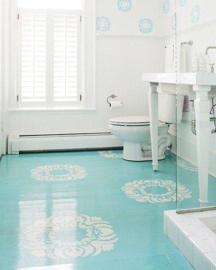 Фотография: Ванная в стиле Классический, Декор интерьера, Декор дома, Пол – фото на InMyRoom.ru