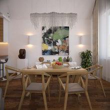 Фото из портфолио Дизайн интерьера квартиры в Москве – фотографии дизайна интерьеров на InMyRoom.ru