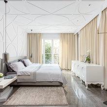 Фотография: Спальня в стиле Эклектика, Квартира, Проект недели, Ника Воротынцева – фото на InMyRoom.ru