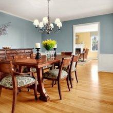 Фотография: Кухня и столовая в стиле Классический, Декор интерьера, Дизайн интерьера, Цвет в интерьере, Стены – фото на InMyRoom.ru