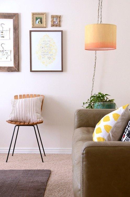 Фотография: Гостиная в стиле Скандинавский, Декор интерьера, Аксессуары, Декор, Мебель и свет – фото на InMyRoom.ru