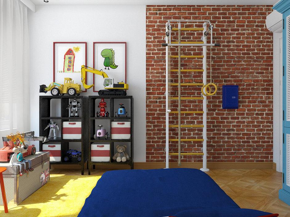 Фотография: Детская в стиле Лофт, Квартира, Дома и квартиры – фото на InMyRoom.ru